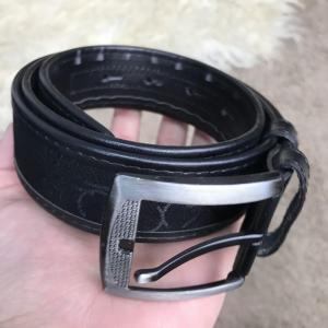 Фото Ремни и пояса Belt Calvin Klein Coated Canvas Flat Black