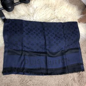 Фото  Scarves Louis Vuitton Monogram Dark Blue
