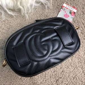 Фото Сумки Gucci GG Marmont Matelassé Belt Bag Black