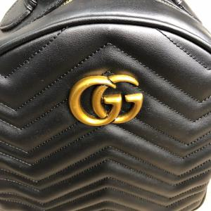 Фото Сумки Gucci GG Marmont Quilted Backpack Black