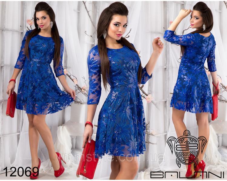 Вечернее  платье  -  12069