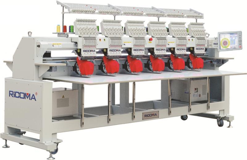 Ricoma 1206 CHT вышивальная машина шестиголовочноя