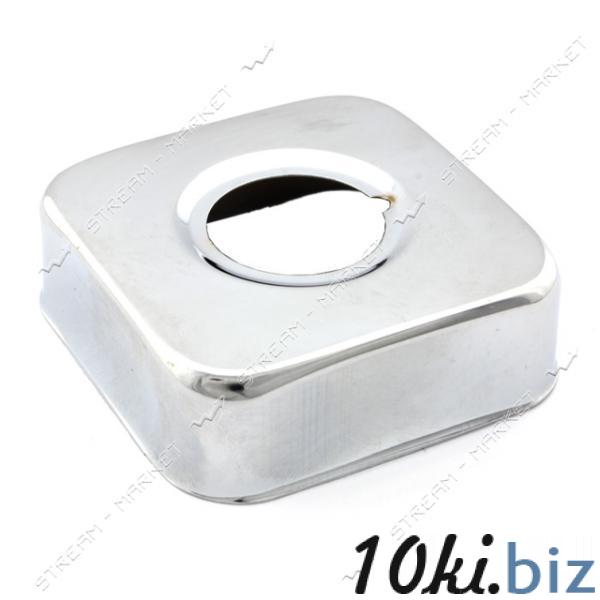 Чашка-декор для эксцентрика смесителя 3/4' квадратная d.60 мм (Нержавейка)(глуб. 20 мм) CHTJ-8 Запчасти для смесителей на Центральном рынке Харькова