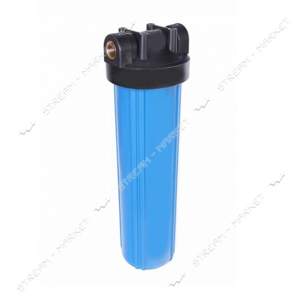 Фильтр магистральный AQUAKUT ВВ20' Slim 1/2' (ключ, крепление)