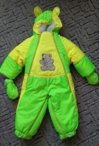 Фото Куртки, комбинезоны, пальто, жилетки ДЕВОЧКАМ ЗИМА. Комбинезон от о до 1 года