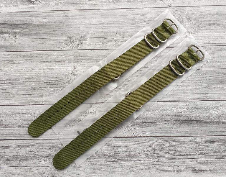Ремешок Zulu Strap для часов, тактический, нейлоновый nato strap