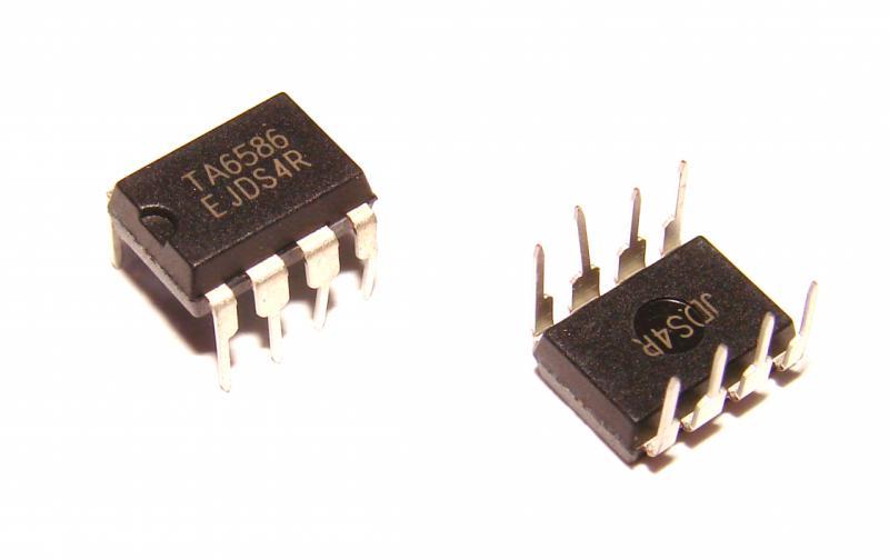 Микросхема TA6586 драйвер двигателя IC