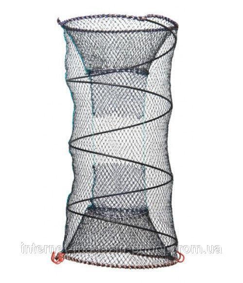Фото Ятеря,раколовки,сетеполотна, Ятерь,верша,кубарь Ятерь рыболовный из капроновой нити 30х60см