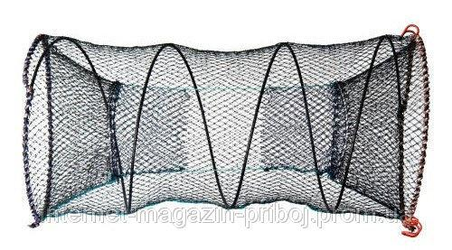 Яетрь рыбацкий круглый из нитки капрон 80х150см