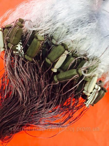 Фото Сети рыболовные Сеть одностенная из лески 1.8х80м Ø55мм