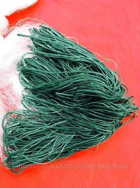 Фото Сети рыболовные Сеть одностенная вшитый груз 3х100м Ø35мм