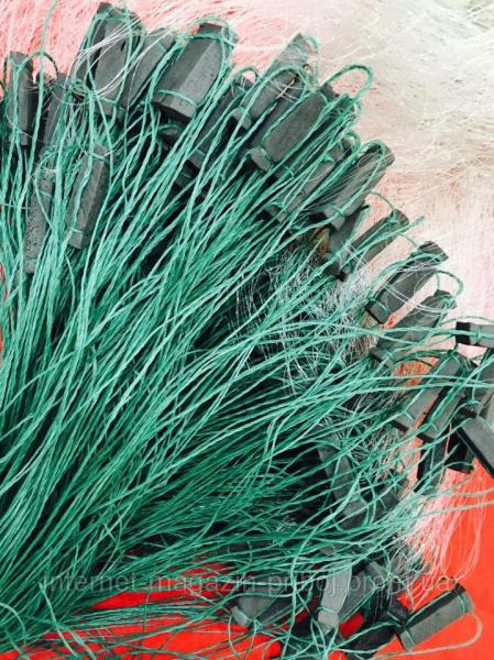 Фото Сети рыболовные Сетка рыбацкая стенка 3х100м Ø40мм