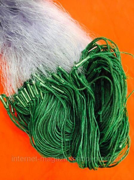 Фото Сети рыболовные Сетка трехстенка груз в шнуре 1.8х100м Ø40мм