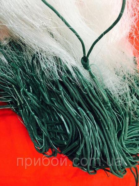 Фото Сети рыболовные Сеть рыболовная трехстенная вшитый груз KAIDA 3х100м Ø80мм