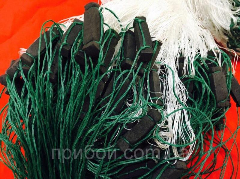 Фото Сети рыболовные Сетка путанка из нитки (капрон) 1.6х40м Ø50мм