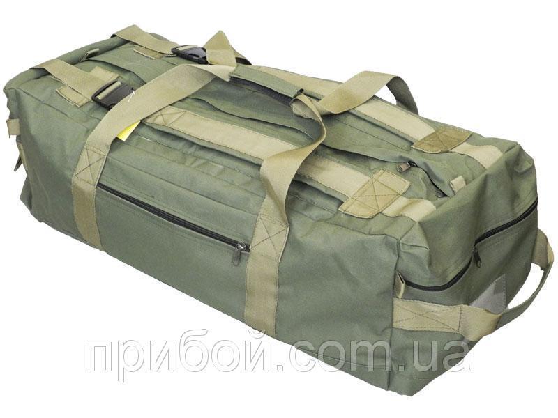 Сумка-рюкзак тактическая 70 литров Олива-хаки
