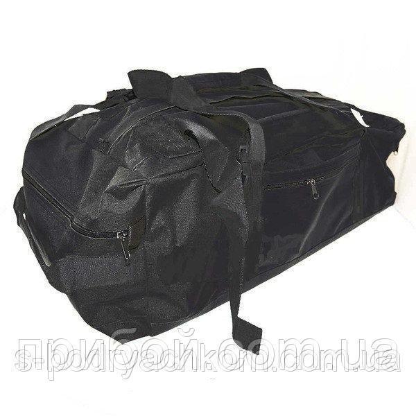 Сумка-рюкзак армейская 70 литров Черная