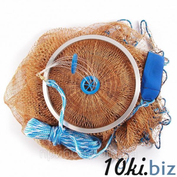 Кастинговая сеть (парашют) из нитки, Американского типа с кольцом - Сети для рыболовной промышленности в магазине Одессы