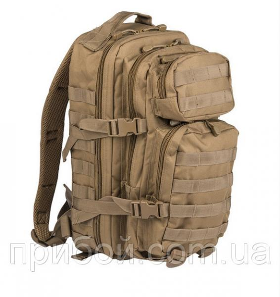 Рюкзак штурмовой Mil-tec (USA) 24 литра Coyote