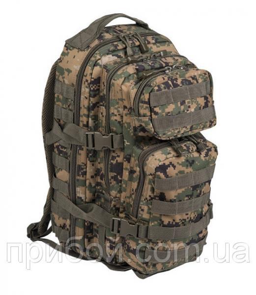 Рюкзак штурмовой Mil-tec (USA) 24 литра Digital Woodland