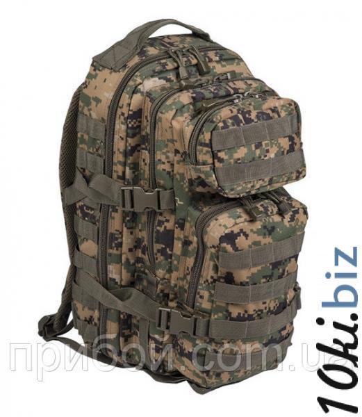 Рюкзак штурмовой Mil-tec (USA) 36 литров Digital Woodland - Рюкзаки туристические в магазине Одессы