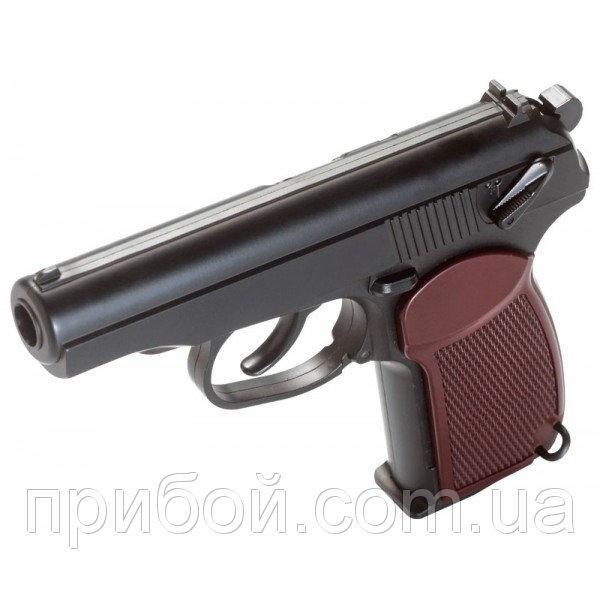 Фото Пневматическое и спортивное оружие, Пневматические газобаллонные пистолеты, Пневматические пистолеты KWC (Тайвань) Пневматический пистолет Макарова KWC PM (KM-44)