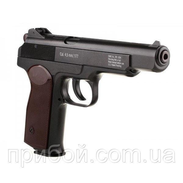 Пистолет пневматический АПС (Стечкина) , Gletcher APS Blowback