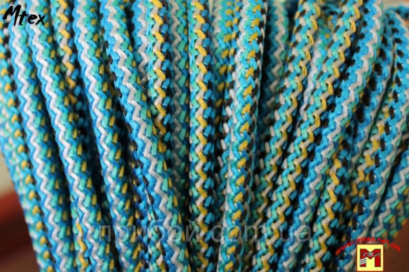 Фото Материалы для посадки и вязания сетей, Шнур посадочный с наполнителем Шнур пропиленовый с наполнителем 100 метров Ø 3,5 мм