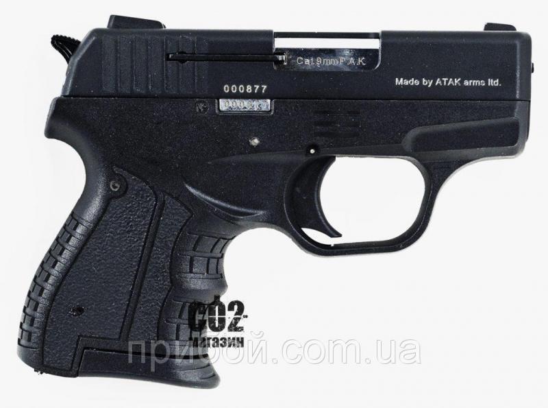 Фото Пневматическое и спортивное оружие, Пистолеты стартовые (сигнально шумовые), Стартовые пистолеты Stalker Стартовый пистолет Stalker (zoraki) 9мм 2906s черный