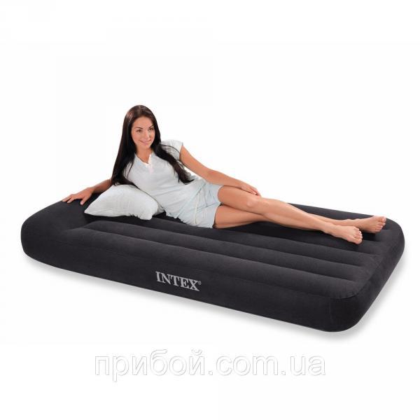Одноместная надувная кровать (матрас) Intex 66767 191х99х30см