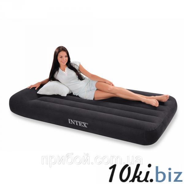 Одноместная надувная кровать (матрас) Intex 66767 191х99х30см - Надувные кровати и матрасы для сна в магазине Одессы