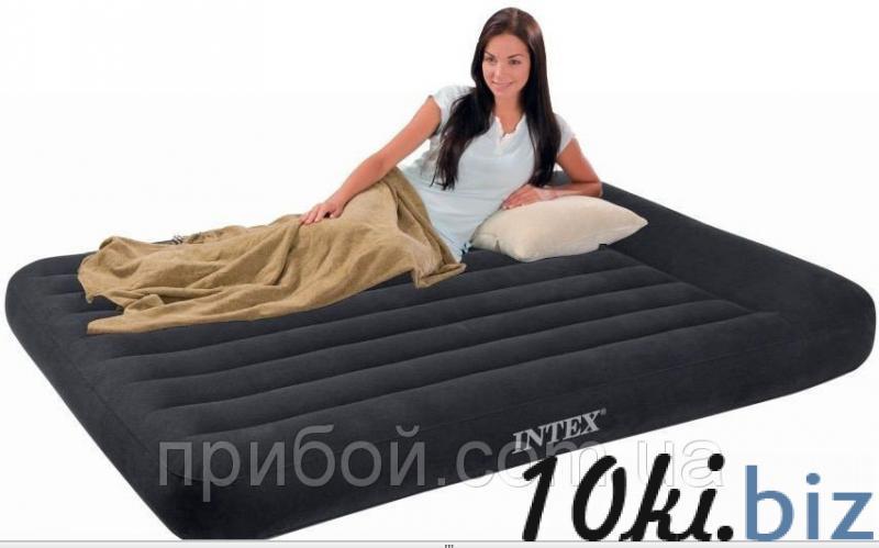 Полуторный надувной матрас (кровать) Intex 66768 137х191х30см - Надувные кровати и матрасы для сна в магазине Одессы