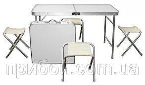 Фото Мебель туристическая Стол+4 стула