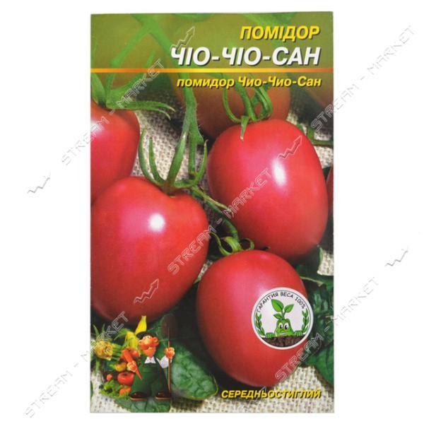Семена помидора пакет8*13см 'Чио Чио Сан' 0, 3 гр (кратно 20 шт)