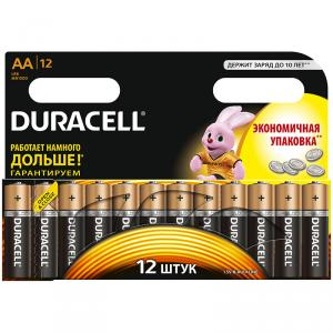Батарейка Duracell AA  алкалиновая