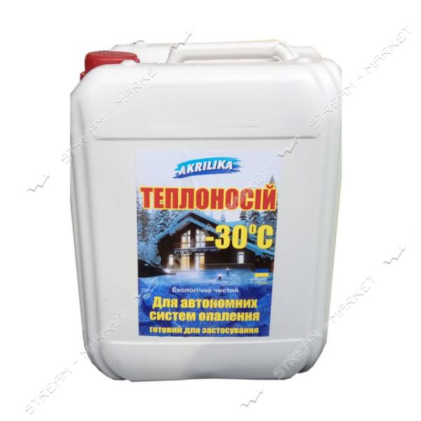 Жидкость для системы отопления Akrilika -30 10л