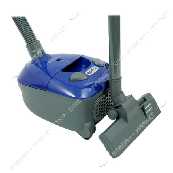 Пылесос мешковой Rotex RVB01-P blue 1500Вт 2л
