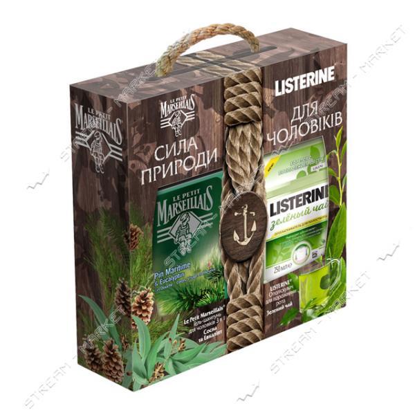 Подарочный набор Le Petit Marseillais Сила природы для мужчин