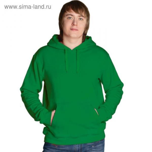 Толстовка мужская StanFreedom, размер 46, цвет зелёный 280 г/м