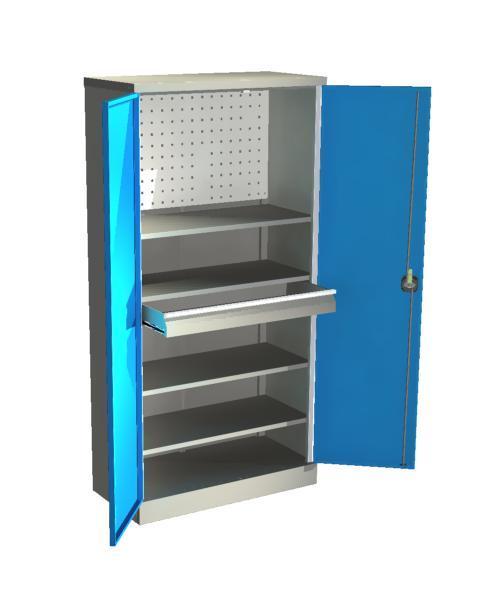 Шкаф для инструмента серии Стандарт  ШИС- 4.1.П