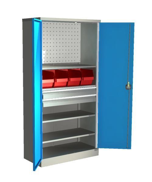 Шкаф для инструмента серии Стандарт  ШИС- 4.2.П