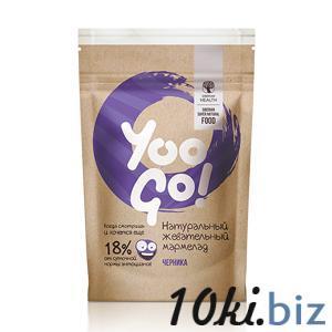Жевательный мармелад с черникой - Yoo GоЖевательный мармелад с черникой - Yoo Gо Шоколад, конфеты в Самаре