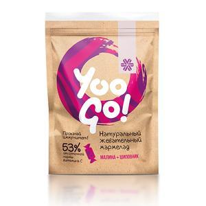 Жевательный мармелад с малиной и шиповником - Yoo Gо