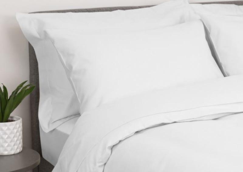 Комплект постельного белья бязь, Белая