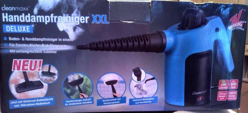 Универсальный паровой очиститель CLEANmaxx
