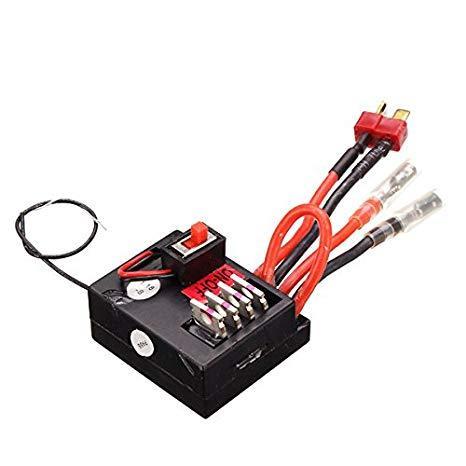 Приемник Wltoys 1/18 Car Receiver A959-B-25, для машинок Wltoys A959-B A969-B A979-B. Плата управления 3-и в одном, приемник, регулятор хода, контроллер сервопривода.