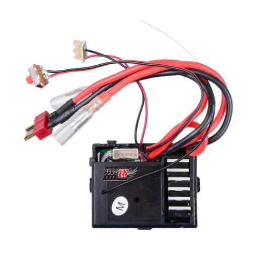 Приемник Wltoys 1/12 Car Receiver ESC 0056, для машинок Wltoys 12428, 12423. Плата управления 3-и в одном, приемник, регулятор хода, контроллер сервопривода.