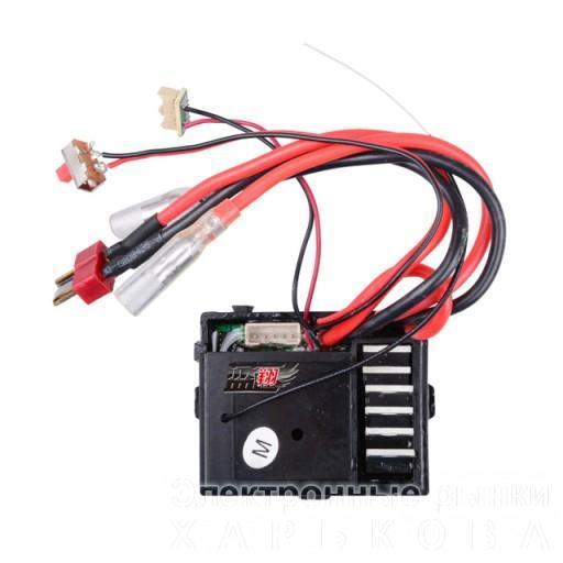Приемник Wltoys 1/12 Car Receiver ESC 0056, для машинок Wltoys 12428, 12423. Плата управления 3-и в одном, приемник, регулятор хода, контроллер сервопривода.  - Комплектующие для радиоуправляемых игрушек и моделей на рынке Барабашова