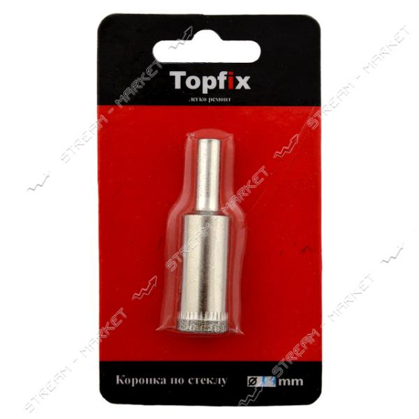 TOPFIX Коронка алмазная по стеклу и керамике 85мм