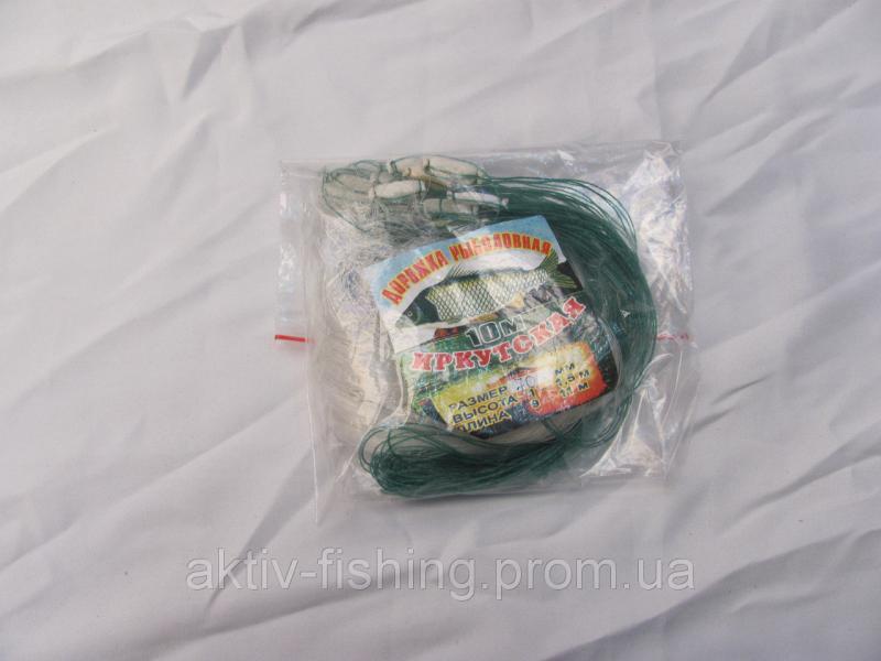 Фото Рыболовные сети; одностенки, трехстенки; экраны, финки;косынки, куклы; полотна; ятеря; раколовки,, Дорожка рыболовная 8- 10 метров,ячейки от 14-100 Дорожка рыболовная  россиянка 8-10м - Ячейка 60